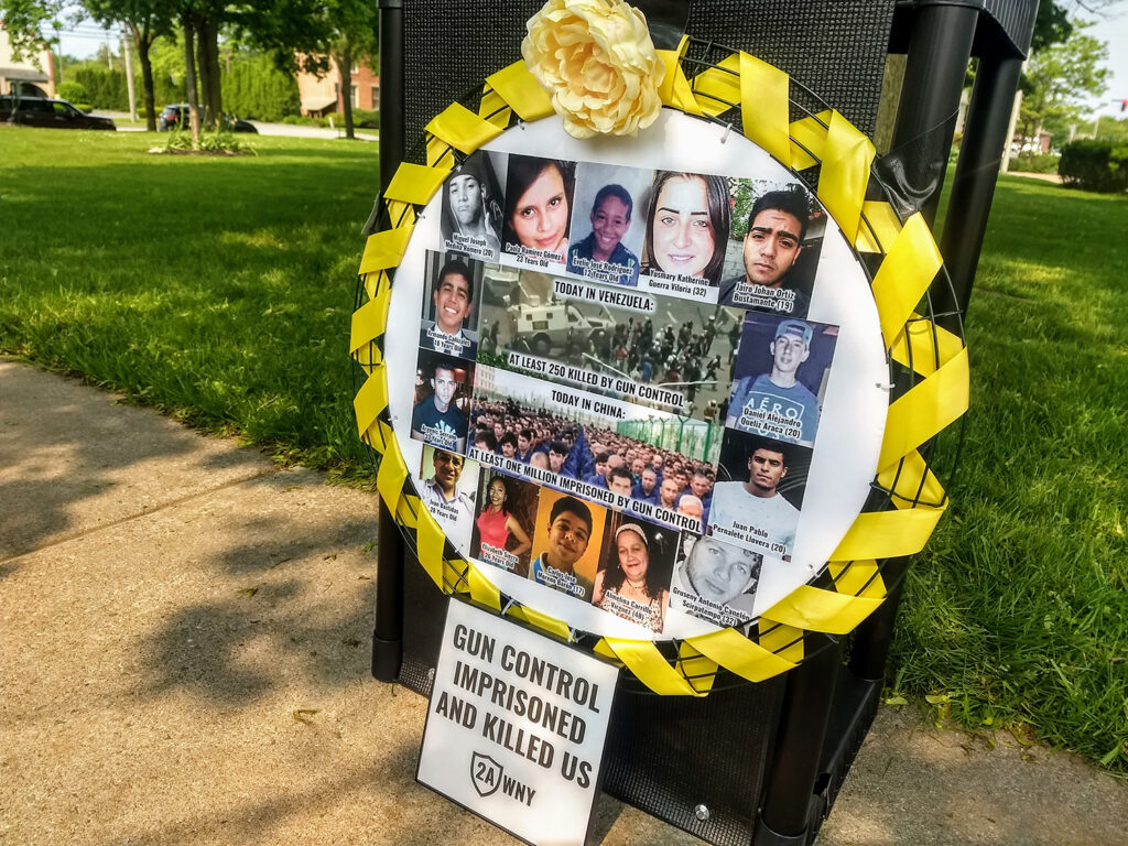 Gun Control Victims Awareness Wreath